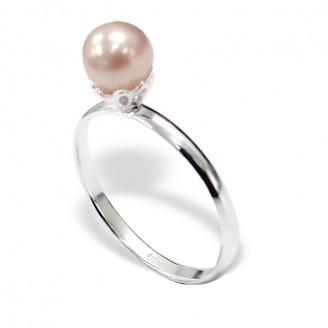 "Stříbrný prsten ""Mušle"". Ag 925/1000"